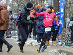 БИМ-марафон: Передача эстафетной ленточки